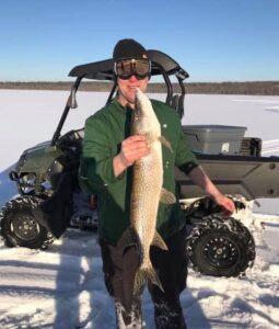 Ice Fishing in Maine 16